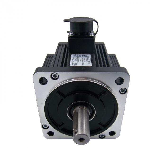Waterproof 130mm Flange CNC Servo Motor 1500w With Encoder , 6Nm Rated Torque