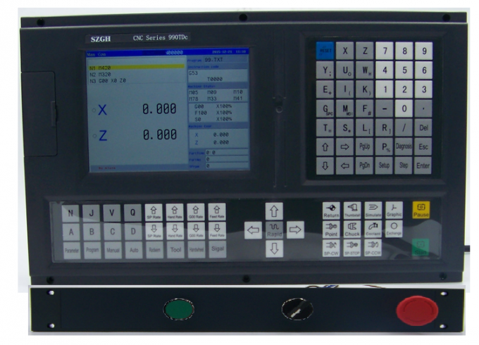 Perfectly 3 axis CNC lathe controller instead of GSK / Fanuc cnc Numerical Control Systems