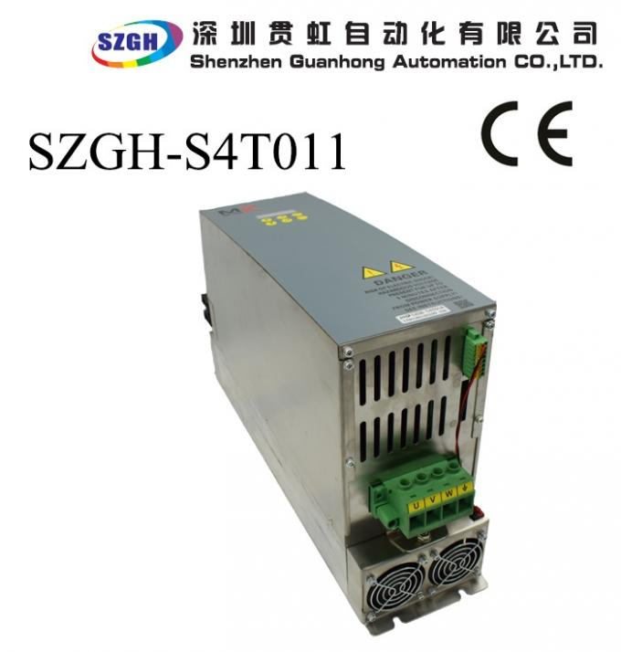 vertcial 5.5kw Ac Cnc Router Spindle Motor And Driver With 35nm And 1024 Line Encoder