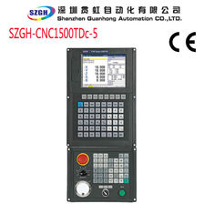 China Black Vertical CNC Lathe Controller I / O 56 x 32 With Macro Function USB interface supplier