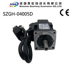 China 0.32NM Variable Frequency 50W AC / DC CNC Servo Motor For Automated Production Lines supplier