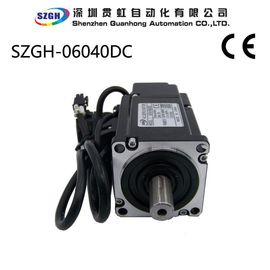 China 400W 1.27NM 0.302kg.m^2*10e-4 Rotor Inrtia three phase CNC Servo Motor supplier