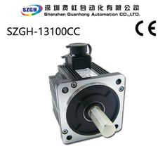 China 1000W 2500RPM  12NM   Frame Size 130mm AC CNC Servo Motor  for Automated manufacturing supplier