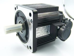 China Waterproof 130mm Flange CNC Servo Motor 1500w With Encoder , 6Nm Rated Torque supplier