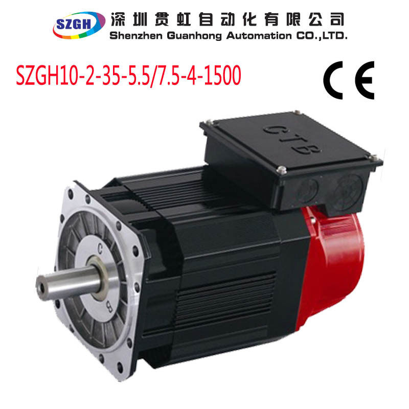 Rated torque 24 n m 3 7kw high precision ac spindle servo for 24 volt servo motor