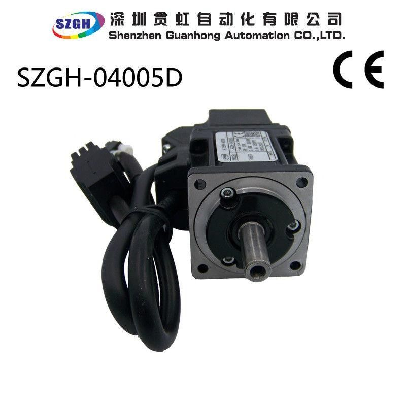 Variable Frequency 50w Ac Dc Cnc Servo Motor For