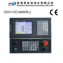 China RS232 5 Axis CNC Router Controller With Hardware Travel Limit / PLC Program distributor
