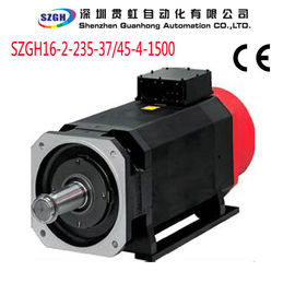 China AC 37KW  235N.m CNC Lathe / Milling / Router Spindle Motor Indexing Accuracy: +/-1 Pulse distributor