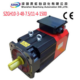 China Induction Spindle Servo Drive Motors For Woodworking CNC Machine 7.5KW distributor