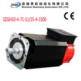 China Water Cooled 11KW  0.01rpm Overload AC Spindle Servo Motor for Cnc Router distributor