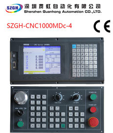 China four axes  1um precision support PLC & external MPG  for Milling CNC Controller distributor