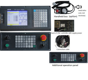 China ATC 4 Axis Plc Cnc Router And Milling Controller Numerical Control Systems 128mb Memory distributor