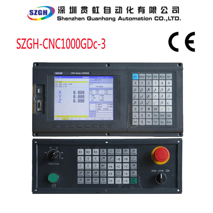 G Code Absolute CNC Controller System For Spheric Grinding Machine 800 x 600 Display